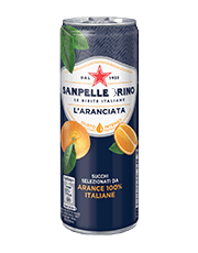 Sanpellegrino Aranciata in lattina